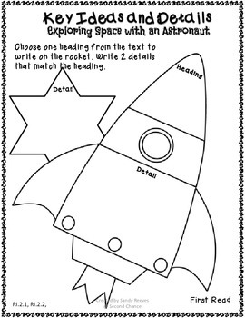 Exploring Space with an Astronaut Close Reading Packet