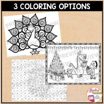 Exponent Rules / Laws of Exponents Coloring Activity by