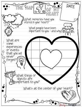 February Journal Prompts, Bell Ringers, Valentine's Day