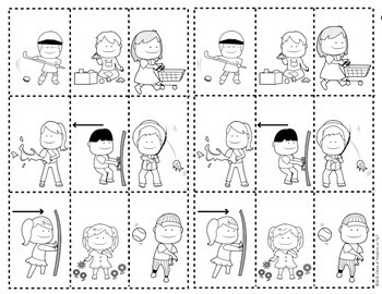 All Around Town {Push and Pull Sort Sheet} for