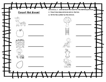 Write the Room FREE: Apples by Differentiation Station