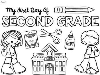 FREE Back to School Coloring Pages! {Pre-K-5} {Beginning