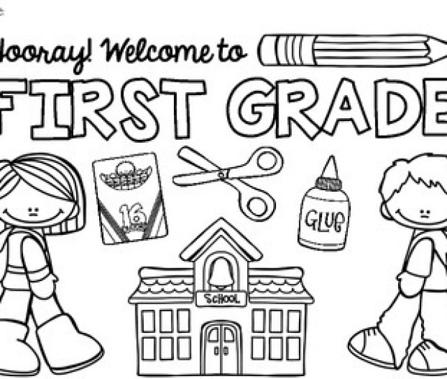 Free Back To School Coloring Pages Pre K  By Khrys Greco
