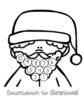FREE Dear Santa Letter Template and Countdown To Christmas