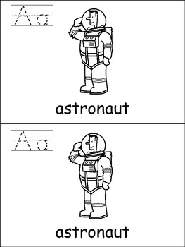 FREE Differentiated Alphabet Emergent Readers for Letter