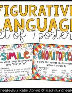 Figurative language anchor chart teaching resources teachers pay also rh teacherspayteachers