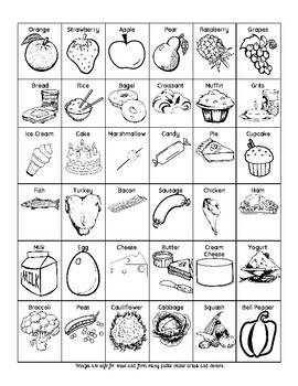 free food clipart perfect