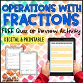 Free Fractions Teaching Resources & Lesson Plans