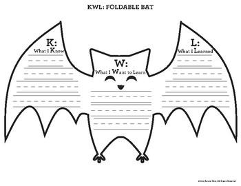 FREE Halloween Going Batty Activities: Stellaluna & Bat