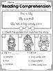 FREE Kindergarten Reading Comprehension (Halloween Edition