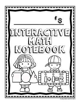 FREE Interactive Math Notebook Covers by Lucky Little