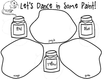 FREE Mixing Colors with Mouse Paint Art by Mrs Miners