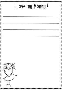 FREE Mother's Day Writing Templates By Lauren Kuhn TpT
