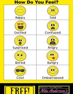Free printable how do you feel emotions chart also by nike anderson   rh teacherspayteachers