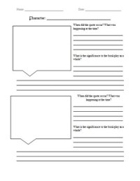 FREE: Quote Analysis Worksheet by Jacquelyn Bellissimo