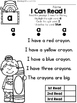 FREE Sight Word Reader and Comprehension (Set 1) by