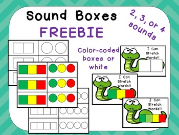 Free Sound Boxes For Phoneme Segmentation For Preschool