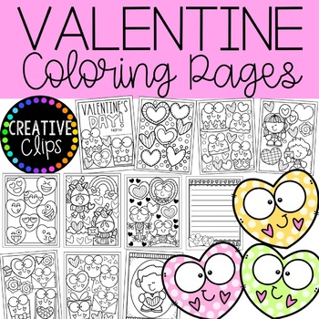 Valentine Coloring Pages Writing Papers Valentine Coloring Book