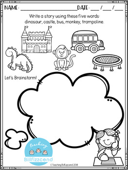 FREE Writing Prompts For Young Writers by Teaching