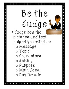 FREEBIE! First Grade: Close Reading and Text Evidence