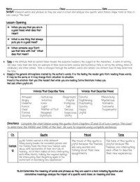 All Worksheets  The Giver Worksheets - Printable ...