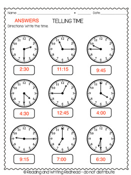 FREEBIE Second Grade Mid-Year Math Page by Reading and