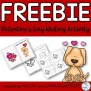 Freebie Valentine S Day Card Literacy Writing Ela