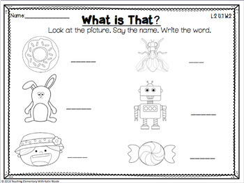 2nd Grade Phonics: Resources for open syllables, 'y' as