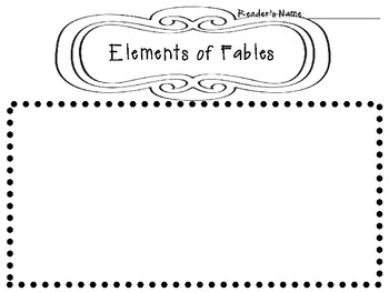 Fables: Character, Plot, and Setting by Learning with