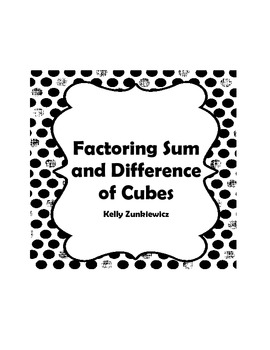 Factoring the Sum and Difference of Cubes by The Math Lab