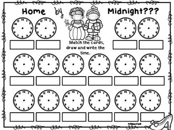 Fairy Tale Fun Part 2 (20 Math Stations, Centers or Pocket