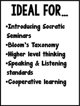Fairy Tale Socratic Seminar Bundle {Bloom's Taxonomy