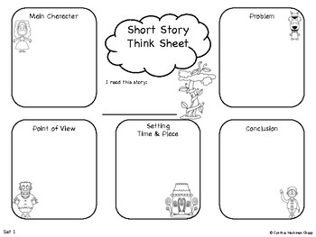 Fairy Tale Think Sheets: Story Analysis & Pre-Writing