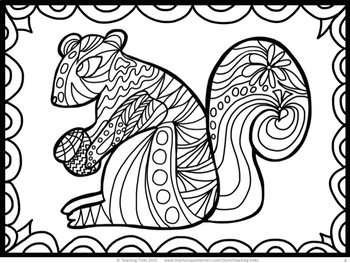 Fall Craft: Fall Coloring Pages and Fall Writing Paper by