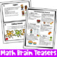 Fall Activities: Fall Math Games, Puzzles and Brain