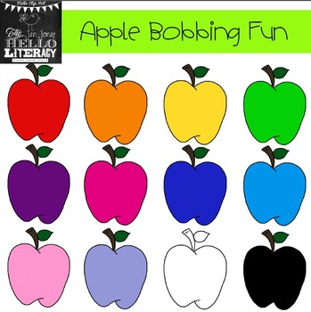 "fall apple clipart ""apple bobbing"