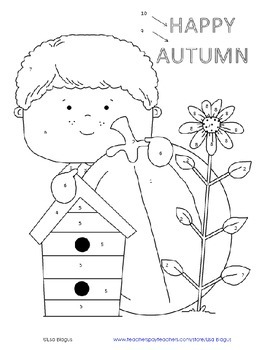 Autumn/Fall Coloring Activity Angles & Parallel Lines cut