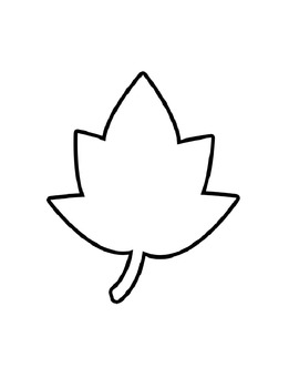 Fall Leaf Coloring Pages By Beverly Moran Teachers Pay Teachers