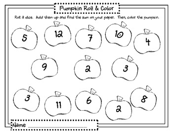Fall/Halloween Math and Literacy Centers (Common Core) by