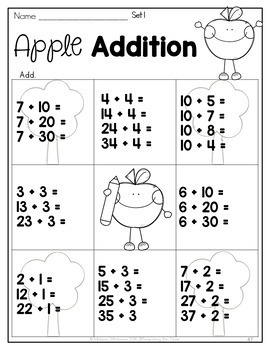 Fall Math & Literacy Printables {2nd Grade} by Searching