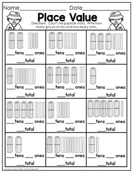 Fall Math and Literacy Packet NO PREP (1st Grade) by The