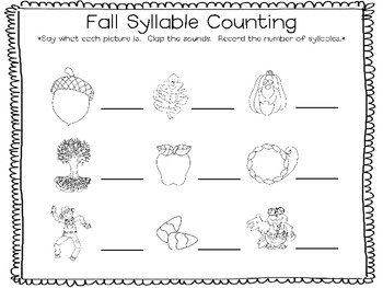 Fall Syllable Counting and Roll Count Graph by Keeping up