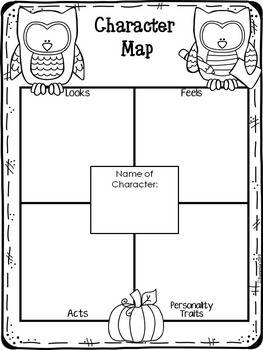 Reading Graphic Organizers for Reading Comprehension: Fall