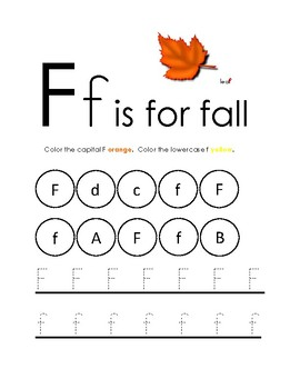 Fall Worksheets: Pre-K & Kindergarten by Library Learning