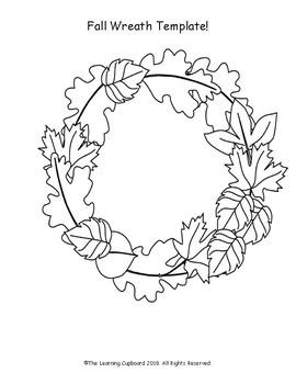 wreath template # 36
