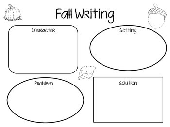 Fall Writing Activity/Graphic Organizer by Melia Griffith