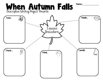 Fall Writing: When Autumn Falls (Descriptive Writing