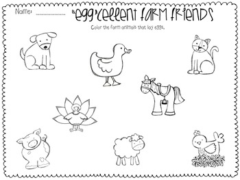 Farm Animals Vocabulary Cards and Activities by