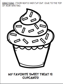 Opinion Writing Craftivity: The Best Sweet Treat! by