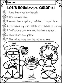 February Reading Comprehension Activities by Teaching